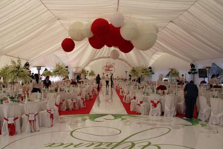 Современный шатер как идеальная площадка для свадьбы